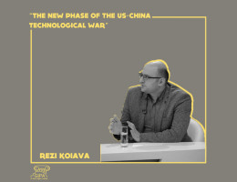 """The new phase of the US-China technological war"" - the public lecture of Rezi Koiava"
