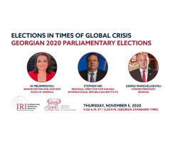 Elections in Times of Global Crisis: Georgian 2020 Parliamentary Elections