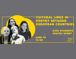 Online Lecture - ''Cultural links in poetry between European countries''