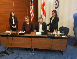 GIPA, Millennium Challenge Foundation - Georgia | MCA - Georgia and Poti Sea Port APM Terminals Poti signed a memorandum of cooperation.