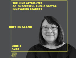 "Online Lecture - ""The Nine Attributes of Innovation Public Sector Leader"""