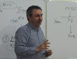 The General Director of JSC MINA, Umit Hakki Aydogan, meets GIPA students