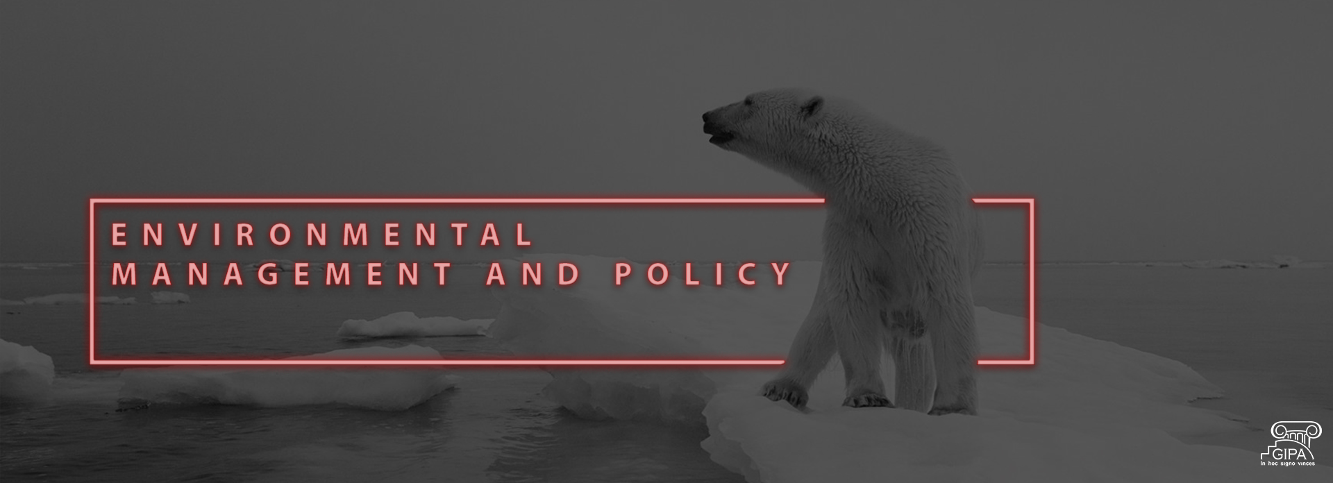 Environmental management and policy